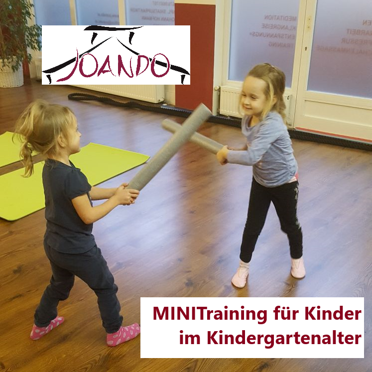 JOANDO MINI Training für Kinder im Kindergartenalter