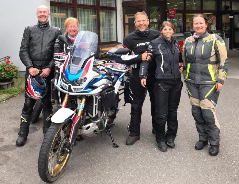 Motorradtour August 2020